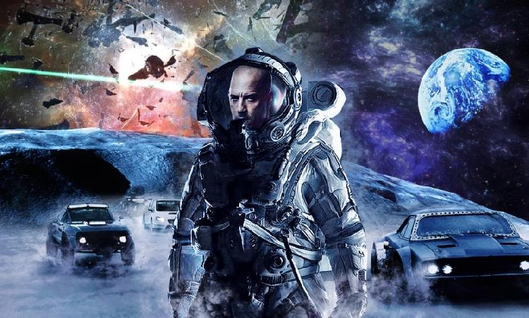 Rápidos y Furiosos 9 ahora será en el espacio (VIDEO)
