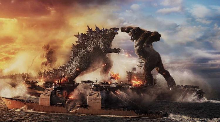 Confirman segunda película de Godzilla vs Kong