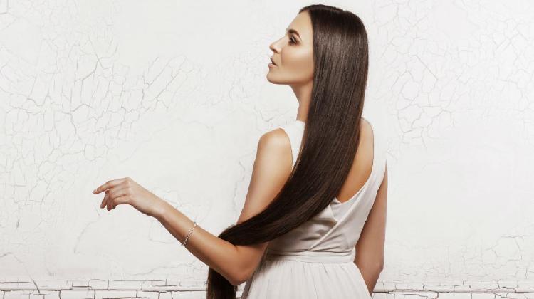 El cuidado del cabello largo