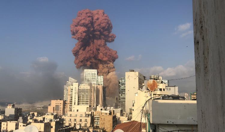 Casi 3 mil heridos y 50 muertos deja la explosión en el Líbano