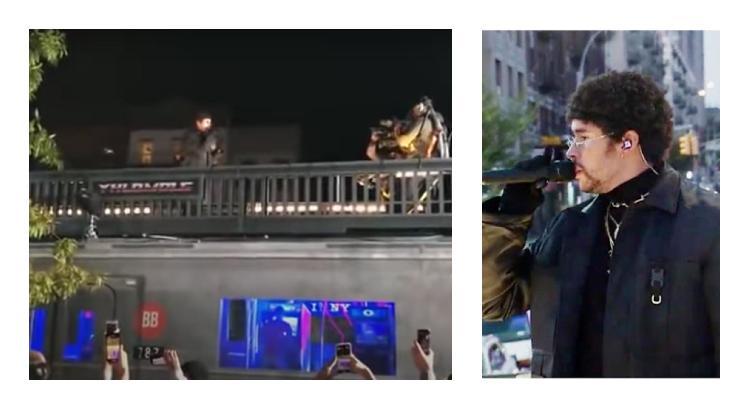 Así se vivió el concierto de Bad Bunny desde la calle (VIDEO)