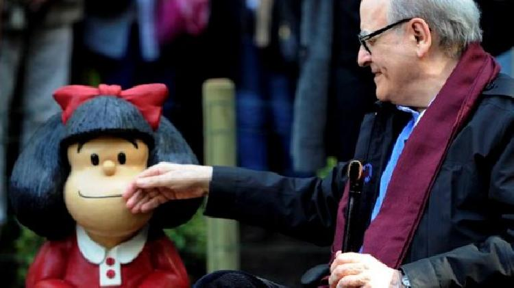 Fallece creador de Mafalda, el argentino Quino