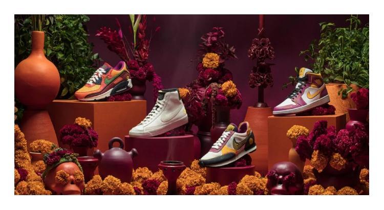 Nike lanza tenis inspirados en el día de los muertos (FOTOS)
