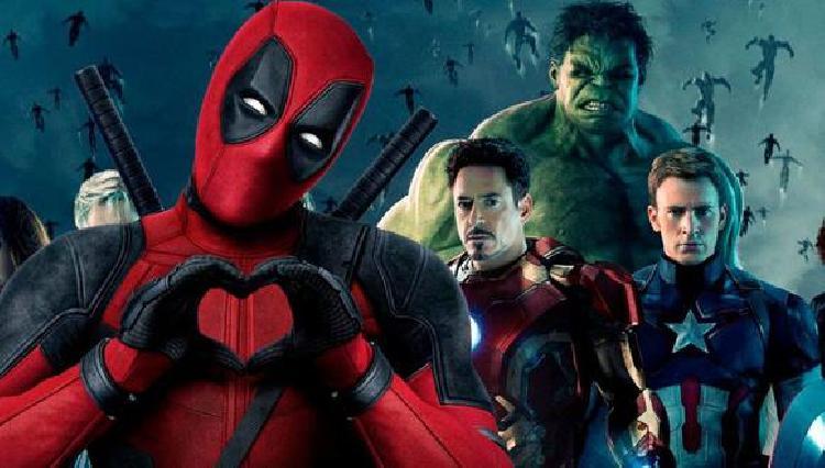 Deadpool se une a Los Vengadores como película para adultos (FOTO)