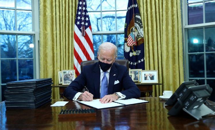 Estas son las primeras ordenes de Joe Biden como presidente de USA